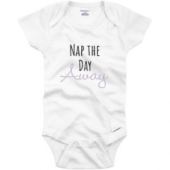 Nap The Day Away Cute Baby