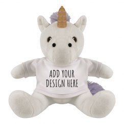 Custom Unicorn Stuffed Animall Doll