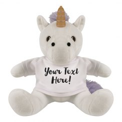 Customizable Unicorn For Gifts