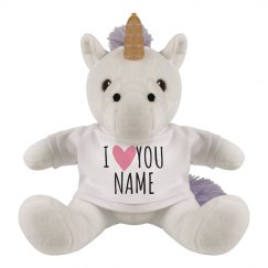 Customizable Girlfriend Gift Unicorn