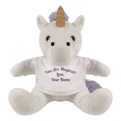 Custom Cute Romantic Unicorn Gift
