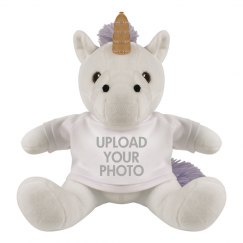 Upload Your Photo Custom Unicorn