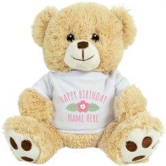 Happy Birthday Custom Name Unicorn