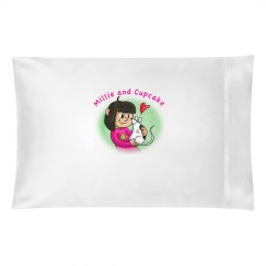 m & C pillow case