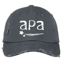 Distressed Hat APA