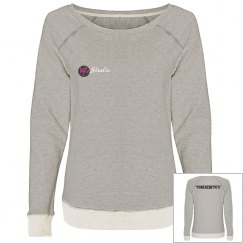 Plain VFit Scoop Neck Sweatshirt