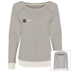 Plain VFit Scoop Neck Sweatshirt