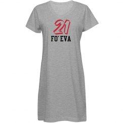 21 Fo'Eva Dress