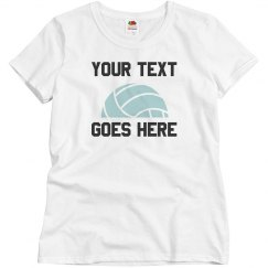 Customizable Text Volleyball Mom
