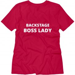 Back Stage Boss Lady