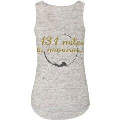 13.1 miles to mimosas