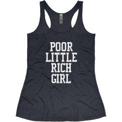 Poor Little Rich Girl - Navy