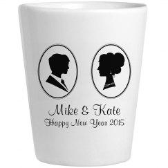 Couple's New Year's Shot