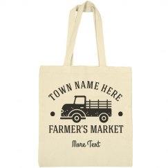 Custom Farmer's Market Add Text
