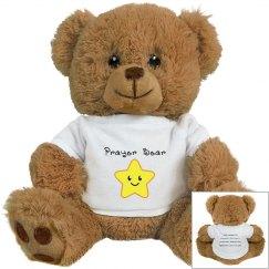 Brown Prayer Bear (scriptures)
