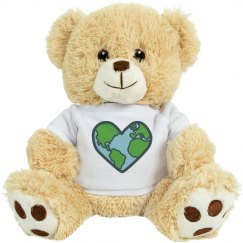 White Prayer Bear