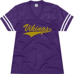 Vikings shirt.