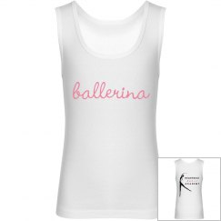 ballerina girls tank