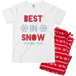 Best in Snow Custom Kids Pajams