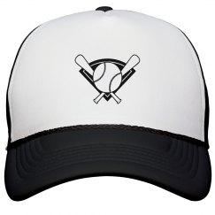 Baseball and Bat Hat