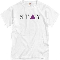 Stay Tee gray