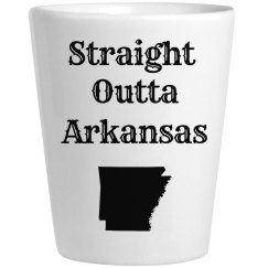 Straight Outta Ark. Blk