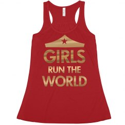 Gold Metallic Girls Run the World