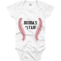 Bubba's #1 Fan Onesie