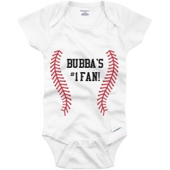 Bubba's #1 Fan Onesie