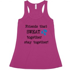 Sweat together