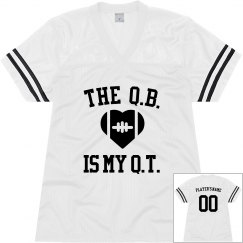 The Q.B. Is My Cutie Jersey