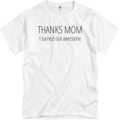 Thanks Mom