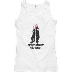 Ginger Power Fitness Tank Ladies