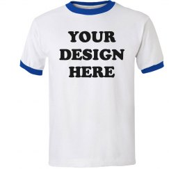 Design a Custom Ringer Tee