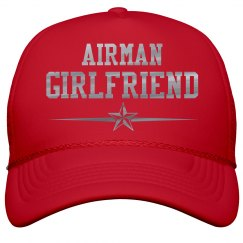 Metallic Print Airman Girlfriend