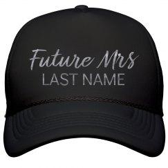 Silver Metallic Future Mrs. Custom