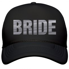 Silver Metallic Bachelorette Bride