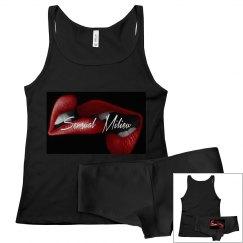 Sensual Milieu cami set red