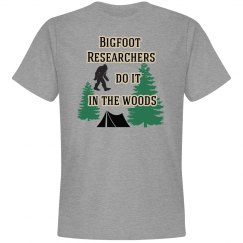 Bigfoot Researchers In The Woods