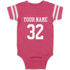 Baby football Body Suit