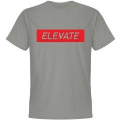 ELEVATE -GREY TEE