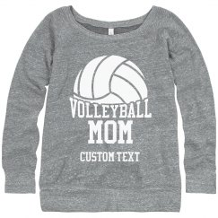 Custom Volleyball Mom Sweatshirt