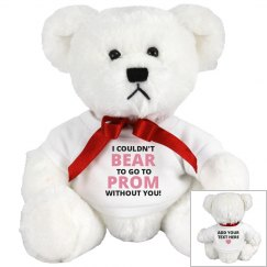 Custom Prom Promposal Bear