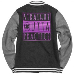 Fuchsia Metallic Straight Outta Cheer
