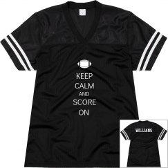 Keep Calm Football w/ Bk