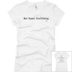 Woman's End Human Trafficking