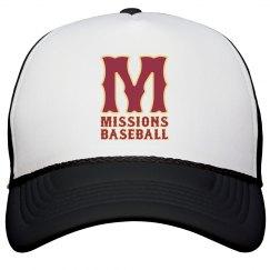 Missions M logo trucker hat