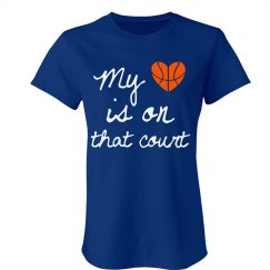 Heart on court