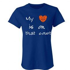 Heart on court
