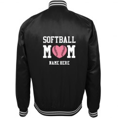 Customized Softball Mom